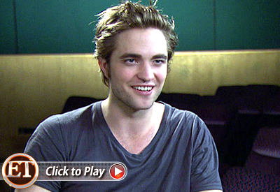 Robert Pattinson ET's Sneak Peek