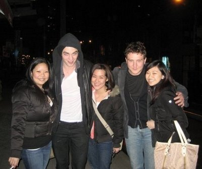 Fan Encouter in Vancouver with Rob & Sam