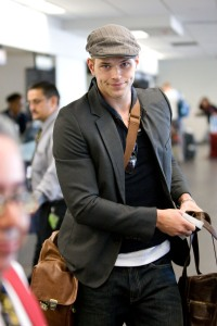 Kellan Lutz Back at Vancouver