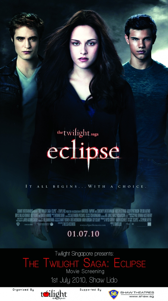 Advance ticket sales for The Twilight Saga: Eclipse is now open ...